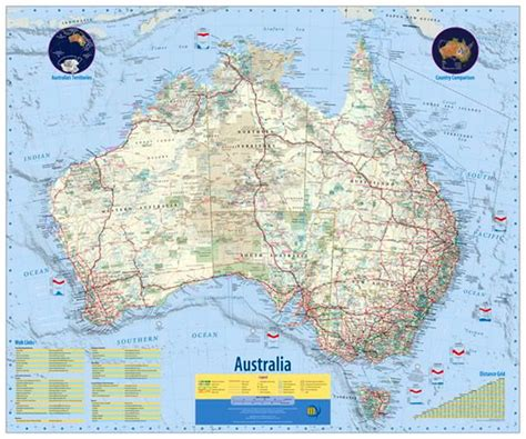 australia touring map australia touring map meridian map 9780975039687 the