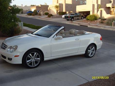 mercedes 350 clk convertible fs 2007 clk 350 convertible white mbworld org forums