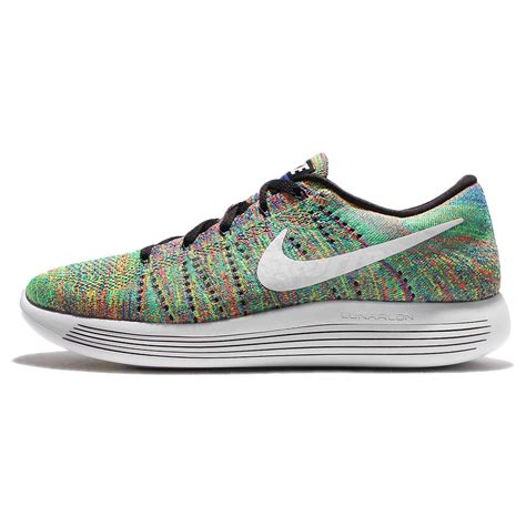 rainbow nike sneakers nike lunarepic low flyknit multi color rainbow mens