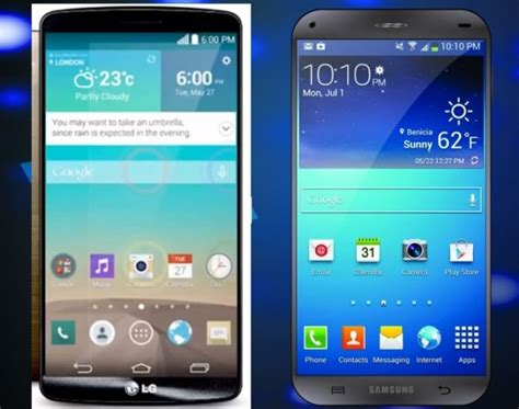 Samsung S6 Vs Lg G4 samsung galaxy s6 vs lg g4 two flagships releases in 2015 trending hallels