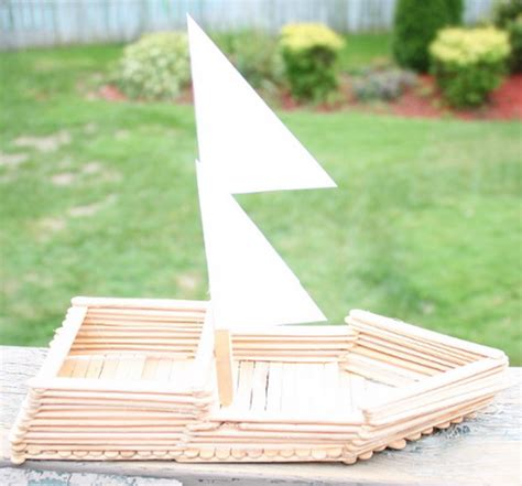 moana boat popsicle sticks columbus day crafts and activities family holiday net