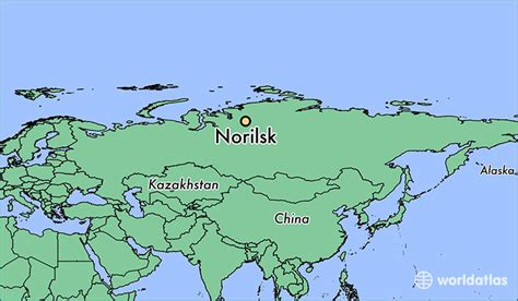 norilsk russia maps where is norilsk russia where is norilsk russia