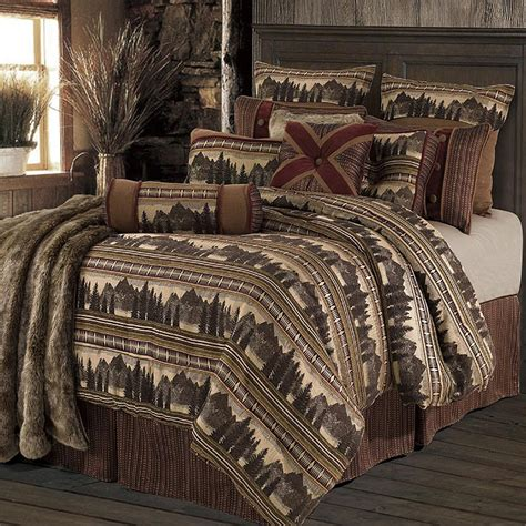 pine cone bedding luxury pine cone bedding cabin place