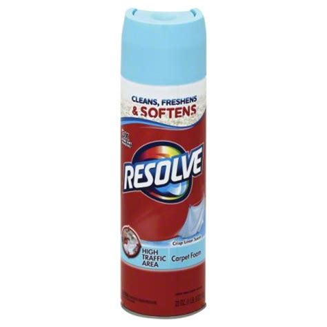 resolve rug cleaner resolve high traffic carpet cleaner foam 22 ounce walmart