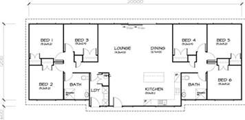 Six Bedroom House Plans by 6 Bedroom Transportable Homes Floor Plans