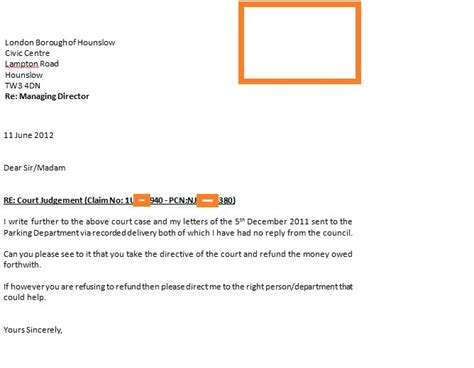 Jury Service Letter Recorded Delivery fightback forums gt bullying council refusing refund