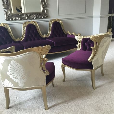 purple and gold sofa 1000 ideas about purple gold on pinterest gold glitter