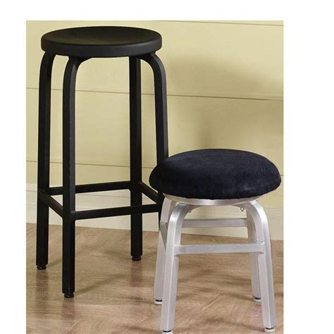 home decorators collection bar stools home decorators collection melanie 24 in black swivel bar