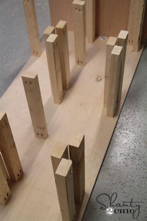 Diy Wood Drawer Slides | diy 6 drawer dresser shanty 2 chic
