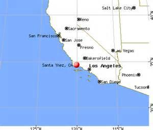 santa ynez california ca 93460 profile population