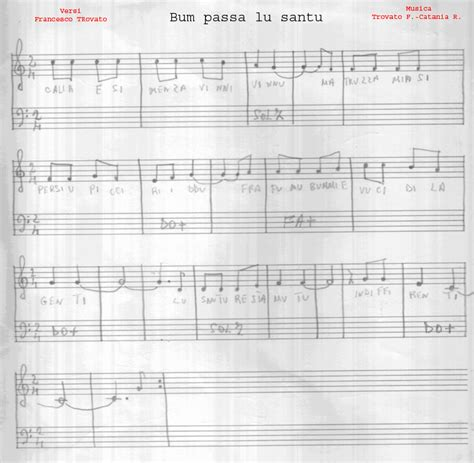 bum bum testo musica siciliana folk canti siciliani testi bum passa