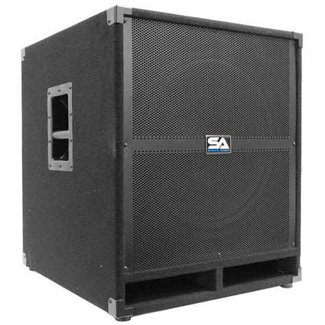 Speaker Subwoofer 18 Inches Seismic Audio Tremor 18 Pw Powered Pa 18 Inch Subwoofer Speaker Cabinet On Popscreen