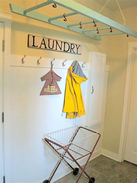 Cute Kitchen Ideas tagged small laundry room hanging solutions archives