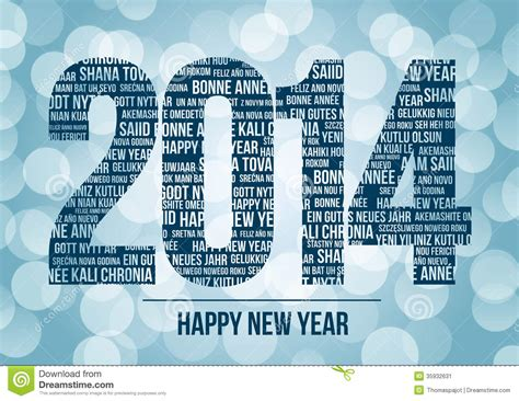 happy new year in language 2014 happy new year stock image image 35932631