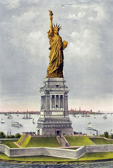 what color is the statue of liberty liberty statue still copper color american history