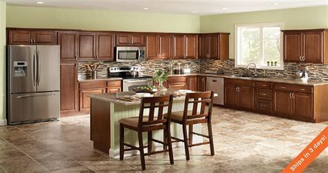Hampton Wall Kitchen Cabinets in Cognac ? Kitchen ? The