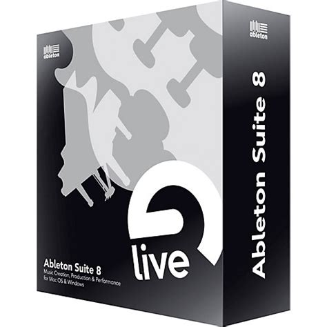 ableton suite 8 upgrade from ableton live lite musician
