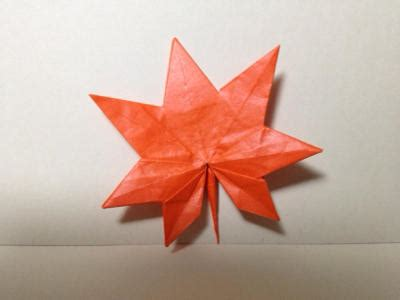 Origami Maple Leaf - origami maple leaf tokyoing