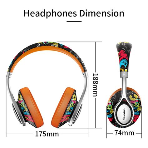 Bluedio A2 Fashionable Wireless Bluetooth Headphones Bluedio A2 Fashionable Wireless Bluetooth Headphones Black Orange Jakartanotebook