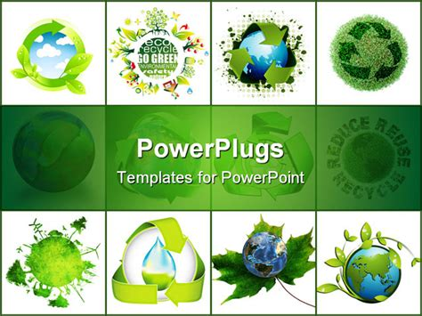 powerpoint templates recycling recycling world concept please check my portfolio for