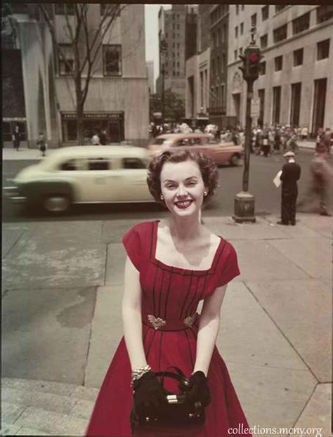 show woman photos in their fifties 1950s fashion fifth avenue style in 1952 glamourdaze