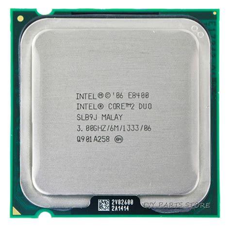 Intel 2 Duo Processor E8400 Fan 6m Cache 3 0 Ghz 1333 Fsb intel 2 duo dual e8400 cpu processor intel e8400 cpu 3 0ghz 6m 1333ghz socket 775
