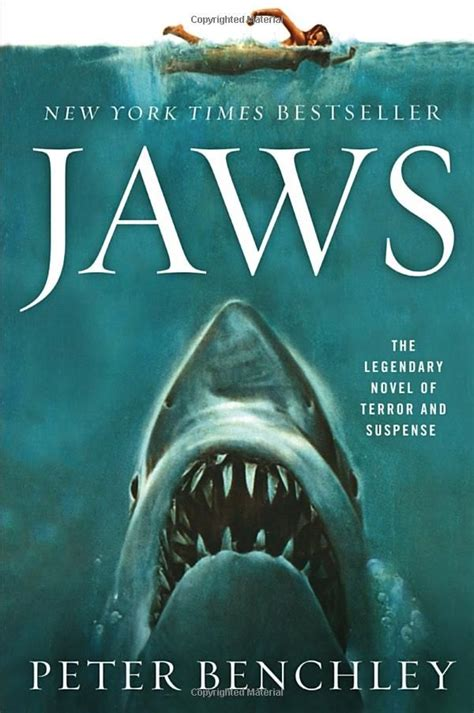 peter benchly jaws by peter benchley horror book covers pinterest