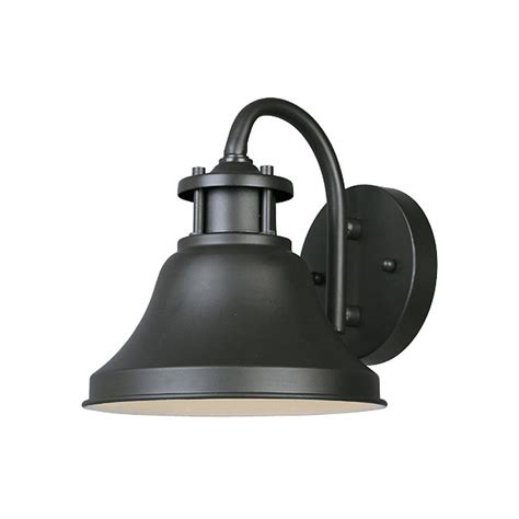Designer Outdoor Lighting Fixtures Shop Designer S Bayport 7 75 In H Bronze Sky Outdoor Wall Light At Lowes