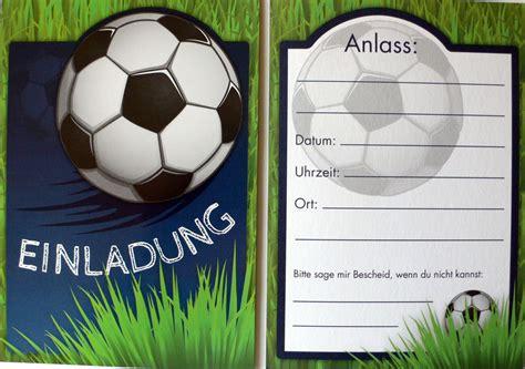 Einladungskarten Hochzeit Grün by Einladungskarten Geburtstag Fussball Vorlagen