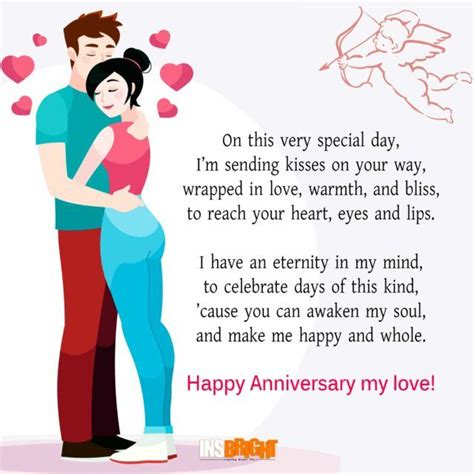 how to make his day special 25 best ideas about anniversary poems for him on