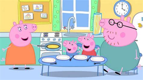 la cucina di peppa pig peppa pig le immagini cartone animato foto