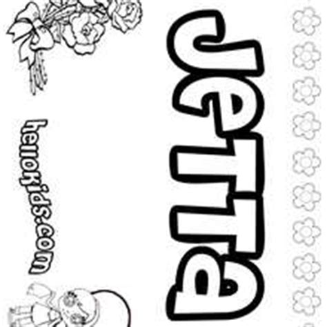 coloring pages jessica name jenna coloring pages hellokids com