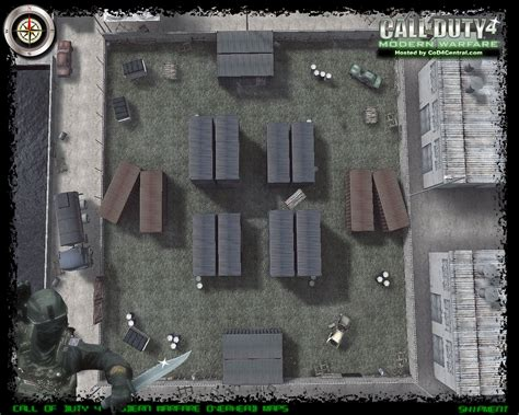 call of duty 4 maps cod4 central cod4 maps shipment high resolution modern warfare remastered