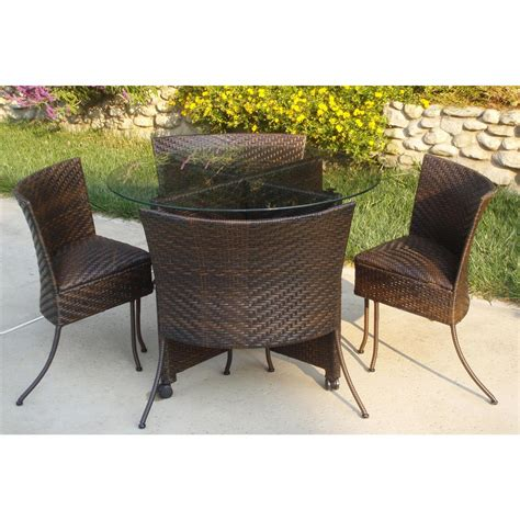 4 d concepts indoor outdoor nesting table and chair