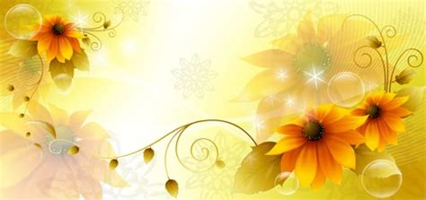 flower spring banners
