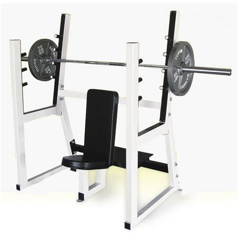 olympic bench press equipment yukon commercial olympic shoulder bench press