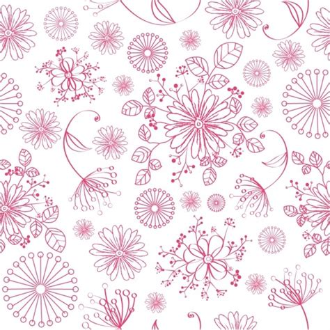 floral pattern vector illustrator seamless floral pattern free vector in adobe illustrator