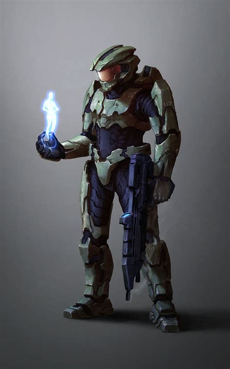 master chief spartan 117 by kuren on deviantart