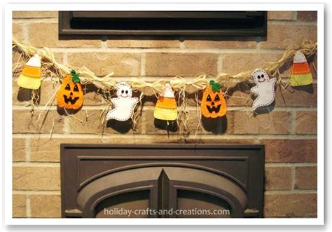 make at home halloween decorations homemade halloween decorations halloween garland