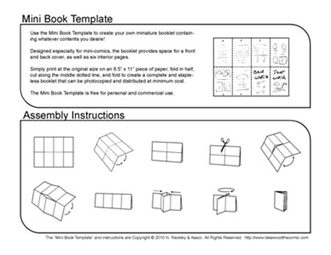 free templates for mini books the creative works of n p rackley droakir s lair