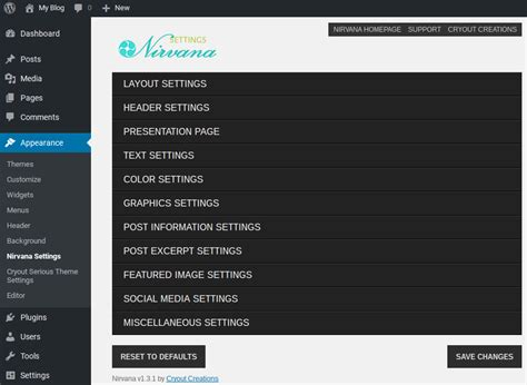 themes wordpress nirvana nirvana review and ratings from our experts isitwp