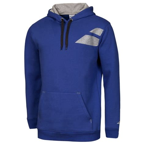 Hoodie Babolat babolat s tennis hoodie blue from do it tennis