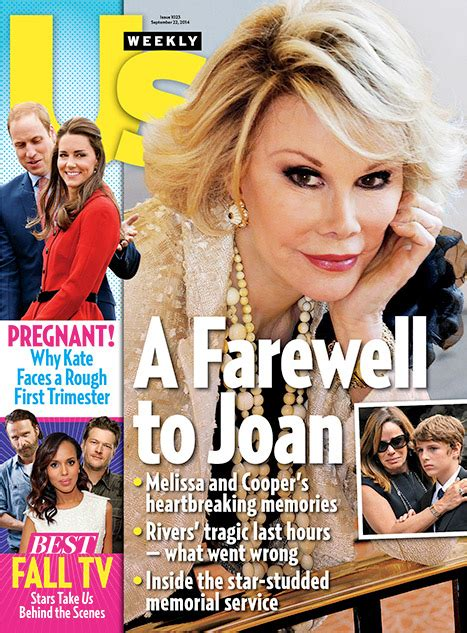 Us Weekly Goes Bald On This Weeks Cover by Rivers Eulogy For Joan Rivers Funeral See The