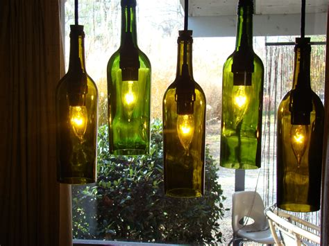 Wine Bottle Chandelier Wine Bottle Chandelier By Glow828 On Etsy
