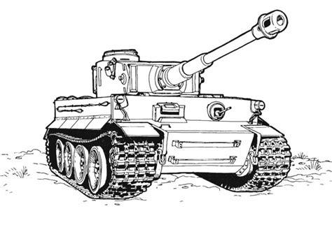 tiger tank coloring page ausmalbilder f 252 r kinder panzer 4