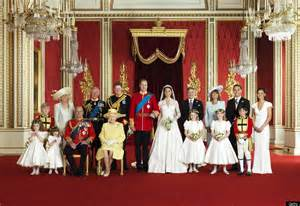 royal family marching on a new royal family