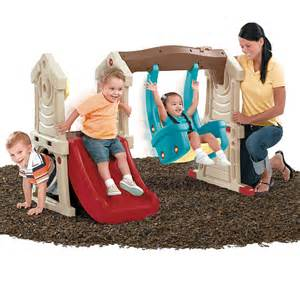 baby swing for 2 year old step2 play up toddler swing slide colors vary step2