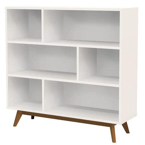 bess white scandinavian style bookcase scandinavian