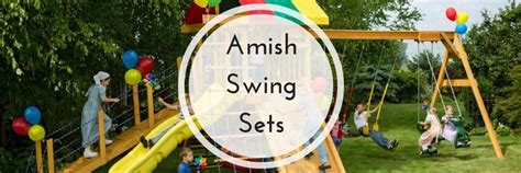 amish swing sets amish swing sets by dutchcrafters amish furniture