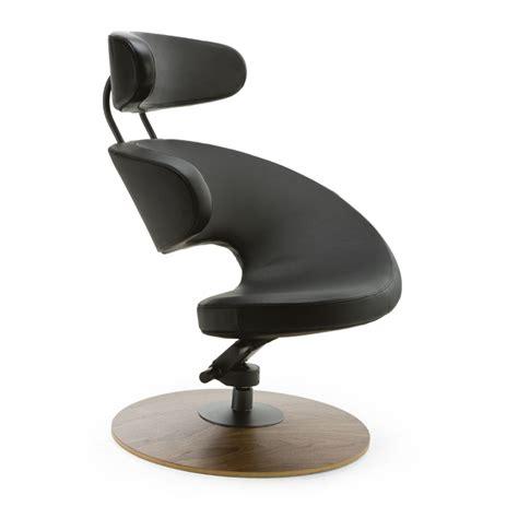 Black Leather Armchair Orange Peel Chair Varier Chairs By Stokke Furniture